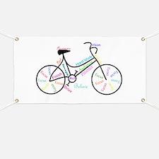 Motivational Words Bike Hobby or Sport Banner