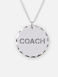 coach-CAP-GRAY Necklace