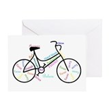 Bicycles Greeting Cards
