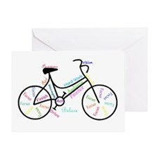 Motivational Words Bike Hobby Or Greeting Cards