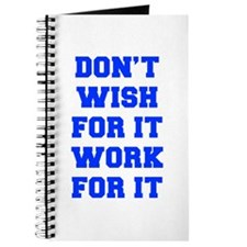 DONT-WISH-FOR-IT-FRESH-BLUE Journal