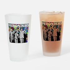 Juan & Evita Peron Drinking Glass