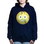 Candy Smiley - Yellow Women's Hooded Sweatshirt
