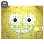 Candy Smiley - Yellow Puzzle