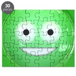 Candy Smiley - Green Puzzle