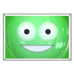 Candy Smiley - Green Banner