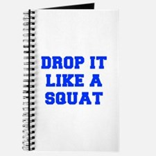 DROP-IT-LIKE-A-SQUAT-FRESH-BLUE Journal