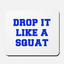 DROP-IT-LIKE-A-SQUAT-FRESH-BLUE Mousepad