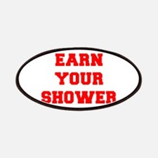 EARN-YOUR-SHOWER-FRESH-RED Patches