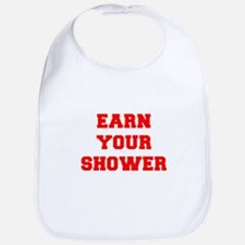 EARN-YOUR-SHOWER-FRESH-RED Bib