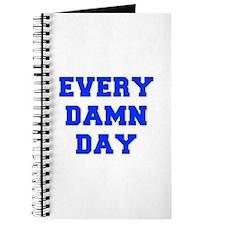 EVERY-DAMN-DAY-FRESH-BLUE Journal