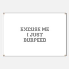 EXCUSE-ME-I-JUST-BURPEED-FRESH-GRAY Banner