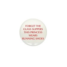 FORGET-THE-GLASS-SLIPPERS-OPT-RED Mini Button (100