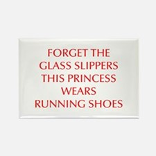FORGET-THE-GLASS-SLIPPERS-OPT-RED Magnets