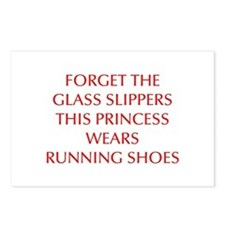 FORGET-THE-GLASS-SLIPPERS-OPT-RED Postcards (Packa