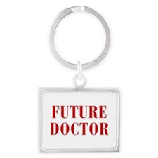 FUTURE-DOCTOR-BOD-RED Keychains