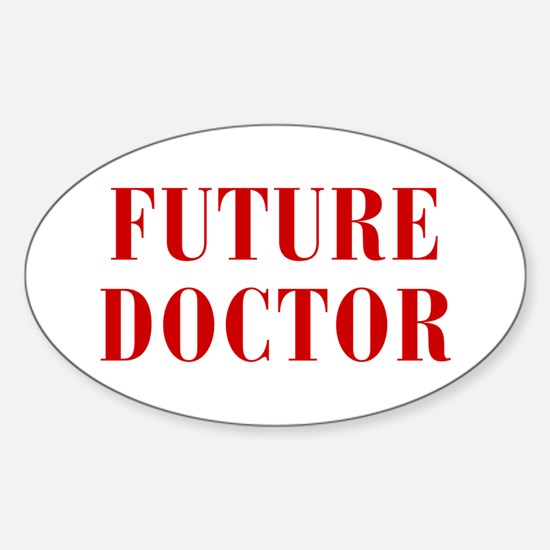 FUTURE-DOCTOR-BOD-RED Decal