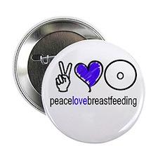 Peace, Love & BF(Blue) Button