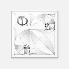 """Unique Gwendolyn Square Sticker 3"""" x 3"""""""