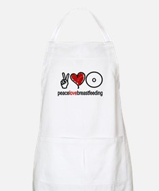Peace, Love & Breastfeeding  BBQ Apron