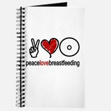 Peace, Love & Breastfeeding Journal
