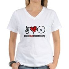 Peace, Love & Breastfeeding  Shirt