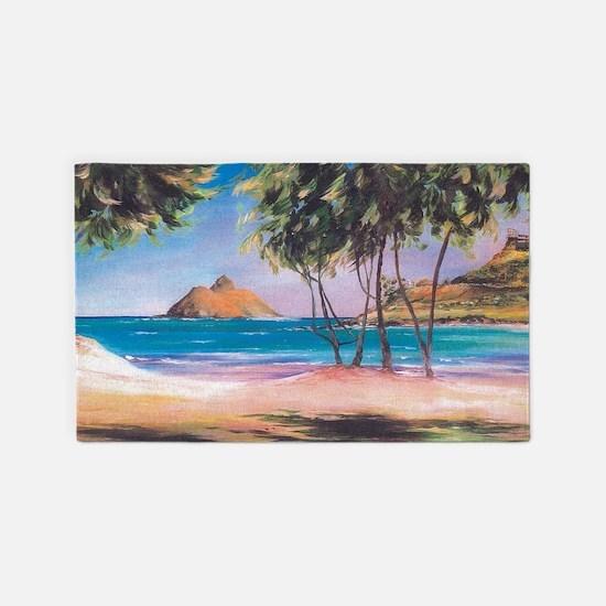 Kailua Beach 3'x5' Area Rug