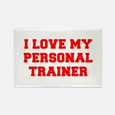 I-LOVE-MY-PERSONAL-TRAINER-FRESH-RED Magnets