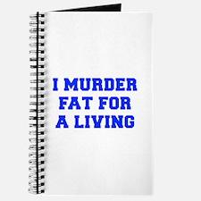 I-MURDER-FAT-FRESH-BLUE Journal