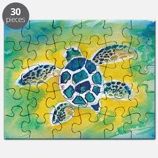 WATERCOLOR HONU DECAL Puzzle