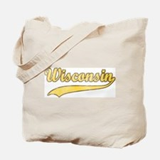 Vintage Wisconsin Tote Bag