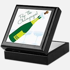 Pop The Champagne! Keepsake Box
