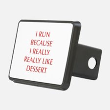 I-RUN-BECAUSE-I-REALLY-LIKE-DESSERT-OPT-RED Hitch