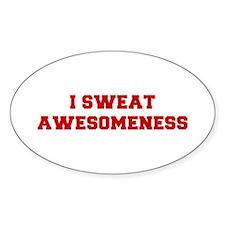 I-SWEAT-AWESOMENESS-FRESH-RED Decal