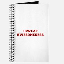 I-SWEAT-AWESOMENESS-FRESH-RED Journal