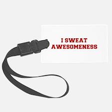 I-SWEAT-AWESOMENESS-FRESH-RED Luggage Tag