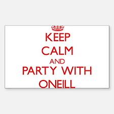 Oneill Decal