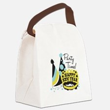 Party Time! Canvas Lunch Bag
