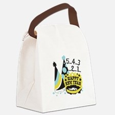 5...4...3...2...1... Canvas Lunch Bag