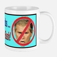 Outsource George Bush Mug