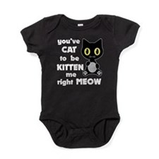 Cat to be kitten me Baby Bodysuit