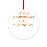 tennis Ornament (Round)