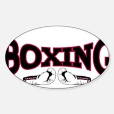 Cute Knock out Sticker (Oval)