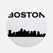 Boston Ornament (Round)