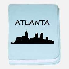 Atlanta baby blanket