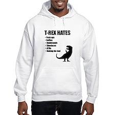 T-Rex Hates Bullet List Jumper Hoodie