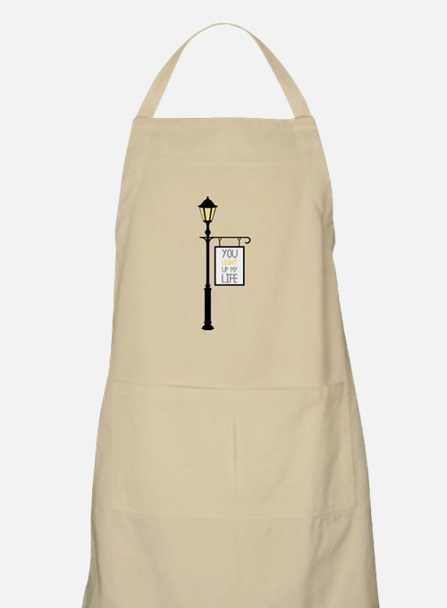 You Light Up My Life Apron