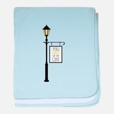 You Light Up My Life baby blanket