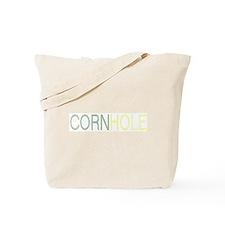 Cornhole Ascii Style Tote Bag