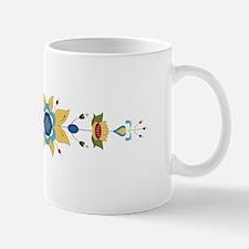 Scandinavian Floral Border Mugs